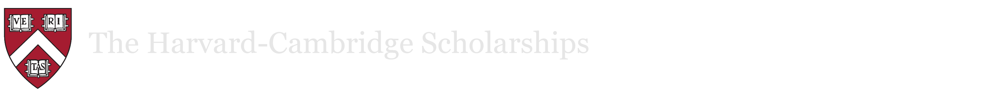 The Harvard-Cambridge Scholarships